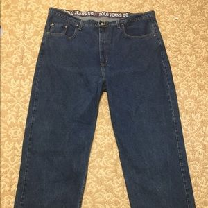 Polo Ralph Lauren Mens Denim Jeans Tall Sz 48x33